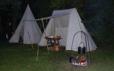 medievales   campement