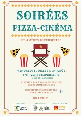 soirées pizza ciné