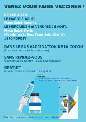 FLYER BUS 100 ROND POINT Vaccination Commune FR 3 4 6 Aug