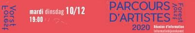 parcours artistes 2020 réunion info