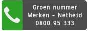 Groen nummer Werken Netheid 0800 95 333